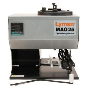 Lyman Mag 25 Digital Furnace 115Vac 850 Watts 25Lbs. Lead