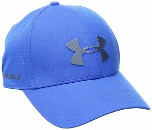 UNDER ARMOUR UA COOLSWITCH DRIVER CAP GOLF BLUE MARKER ACADEMY From Japan FS