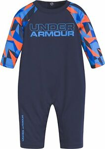 Under Armour Baby Boys Geo Cache Coverall Midnight Navy 12M