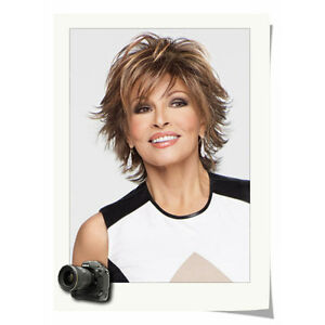 Chic Short Cut Fluffy Curly Hairstyle Highlight Blonde Color Synthetic Hair Wig