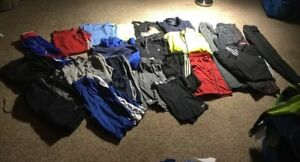 Lot 22 PC MENS XL Athletic Wear Under Armour Adidas NIKE Hoodies Pants Shorts