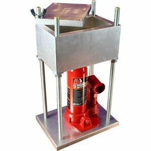THE Drill Presses BRICK PRESS Best Selling 4-Ton Pollen The World 8000 Lbs Of