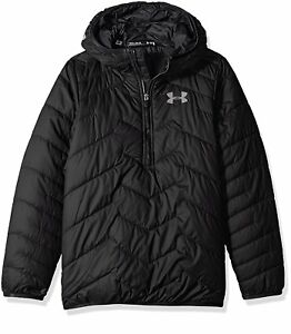 Under Armour Boys ColdGear Reactor Anorak BlackBlack Youth Small