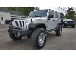 2012 Jeep Wrangler Unlimited Sport 2012 Jeep Wrangler Unlimited Sport 85195 Miles Bright Silver Metallic Clear Coat