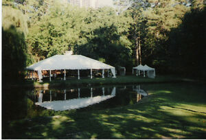 New 40'x80' complete Commercial Frame Party Tent - George Maser
