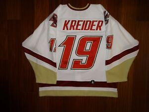 Game Worn Under Armour Chris Kreider Boston College 2010-2011 Jersey Rangers