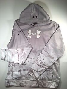 NEW Under Armour Mens Storm1 Pullover Ridge Reaper Camo Hoodie Size LG 1297261