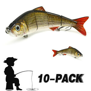 Mental Minnow Lures Spinner BaitsPikesTrout Lures Fishing Hooks Tackle Kit Lot