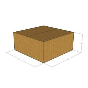 5 Corrugated Boxes 18 x 18 x 8  32 ECT - New for Packing or Shipping Needs