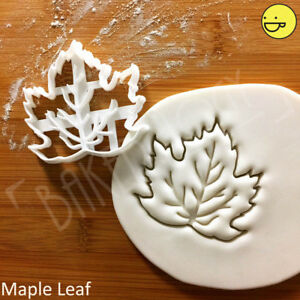 Maple Leaf cookie cutter  fairy whimsical forest garden tea party autumn fall