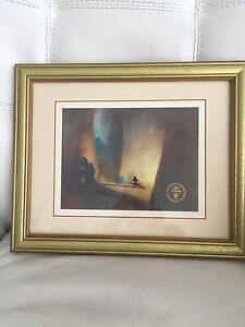 Authentic Commemorative Lithograph Disney $120.00