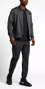 Nike Dry Hyper Elite Basketball Jacket Dri-Fit classic bomber Anthracite Small