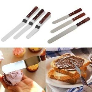 6/8/10inch Butter Cake Cream Knife Spatula Icing Spreader Pastry Decorating Tool