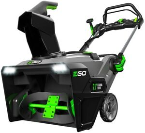 EGO 21 in. 56-Volt Lithium-ion Single-Stage Cordless Electric Snow Blower with