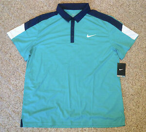 Nike DriFIT Stay Cool Team Court Men's Tennis Polo Shirt- XL - NWT