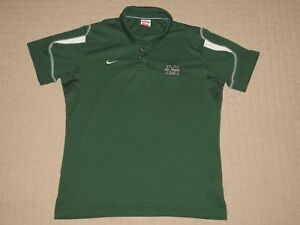 Boys Nike Team Fit Dry Short Sleeve SS Golf Polo Shirt Youth Large 12-14 Green