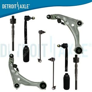10pc Lower Front Control Arms Suspension Kit For 2007 2012 Nissan Altima 3.5L $217.76