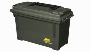 PLANO AMMO CRATE UTILITY BOX Plastic Case Ammunition Water Resistant