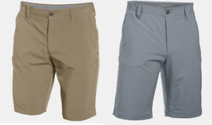 Men's Under Armour Match Play Tapered Golf Shorts Various Sizes- Canvas or Steel