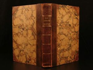 1836 1st ed The Pirate Three Cutters Captain Marryat Nautical Ships Illustrated