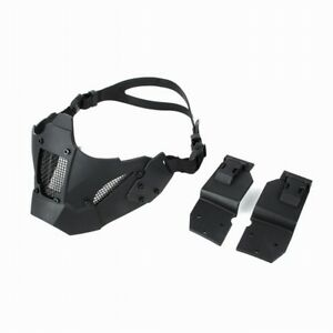 tactical paintball accessories hunting protective half face JAY FAST helmet MASK