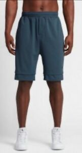 Nike Air Jordan 23 LUX Jumpman Men's Shorts Basketball Casual Running Gym Blue