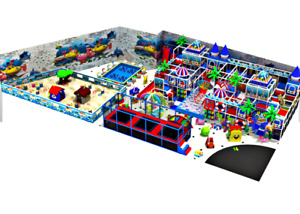 30000 sqft Commercial Trampoline Park Dodgeball Playground Turnkey We Finance