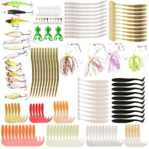 Fishing Lures Baits Tackle Crankbaits Spinnerbaits Spoons Topwater Frog Soft...