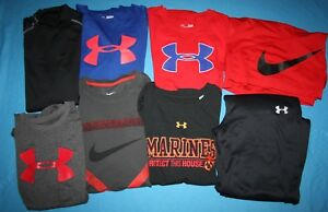 Boysyouth lot Under Armour Nike Shirts Sweatpants shorts YXL XL Men's Small