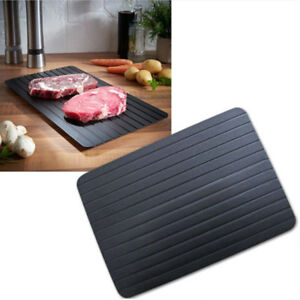 Fast Defrosting Tray Kitchen The Safest Way to Defrost Meat Or Frozen Food US