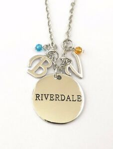Riverdale TV Series 3 Charm Themed Pendant Necklace W20