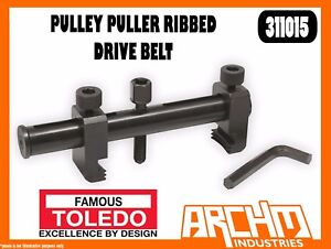TOLEDO 311015 -  PULLEY PULLER RIBBED DRIVE BELT UNIVERSAL ADJUSTABLE HEX DRIVE