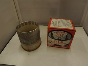 KEROSENE STOVE REPLACEMENT WICK NO. 331 X FAST GLOW 3 PLY