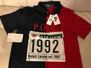 Polo By Ralph Lauren Stadium 1992 Polo Shirt P Wing Sz M New With Tags