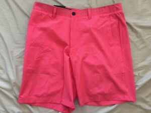 Under Armour Men's Drive Golf Shorts 1308786 Pomegranate Light Heather Red 30