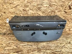 JAGUAR XFR SUPERCHARGED (09-11) REAR TRUNK CARGO MOLDING COVER OEM HATCH