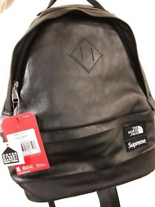 Supreme X The North Face® Leather Day Pack - BLACK