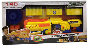 Zuru X Shot 148 Pieces Turbo Advance Shoots Upto 60 Feet Easy To Detach Reload