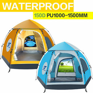 New Waterproof Camping Auto PopUp Tent Sleeping Air Mattress For Hiking Camping