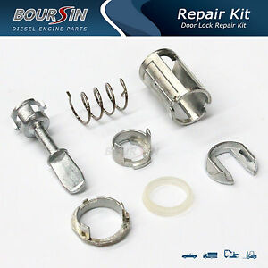 Door Lock Cylinder Barrel Repair Kit For VW Golf MK4 Bora - Front Left