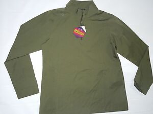 Under Armour womens Cold Gear Infrared zip Tactical Pullover shirt SMALL rt $84