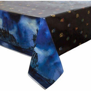 Harry Potter Plastic Table Cover Birthday Party Supplies Hogwarts Houses Cloth