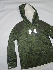 Under Armour girls UA storm camo Hoodie Sweatshirt  YLG youth Large 14-16