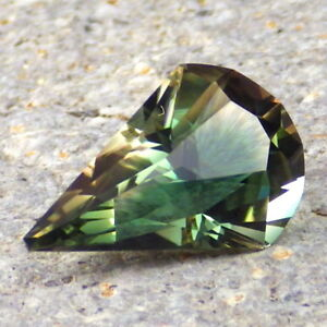 GRASS GREEN-TEAL-PEACH MULTICOLOR MYSTIQUE OREGON SUNSTONE 4.10Ct FLAWLESS-RARE!