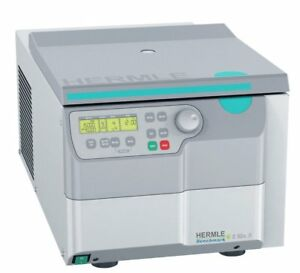 Hermle Z326 Refrigerated Universal Centrifuge Includes 4 x 100 mL Rotor