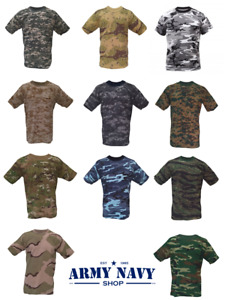 Army Navy Shop Short Sleeve Camouflage T Shirt