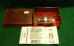 Lee Precision Carbide Factory Crimp Die - 9mm - # 90860 with Box