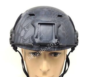 US LIGHTWEIGHT OPS-CORE FAST BASE JUMP MILITARY HELMET BK-TYPHON