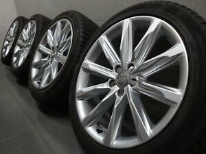 19 Inch Winter Wheels Original Audi A7 S7 4G 9-speichen Design 4g8601025k
