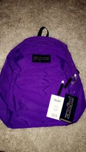Jansport Purple Backpack $50.00